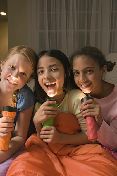 Slumber Party Game Ideas for 8-Year-Olds
