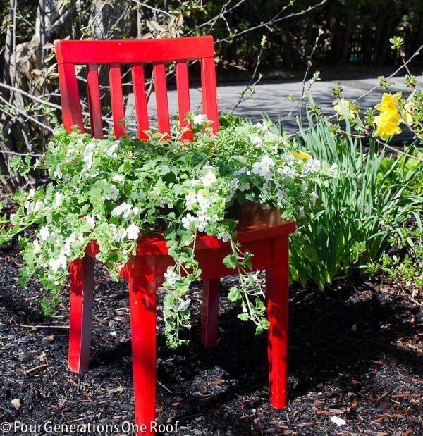 Best 25 Patio Planters Ideas On Pinterest: Best 25+ Recycled Planters Ideas On Pinterest