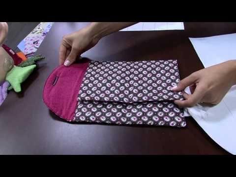 Mulher.com 22/04/2015 Ana Paula Stahl - Porta kit manicure patchwork Parte 2/2 - YouTube