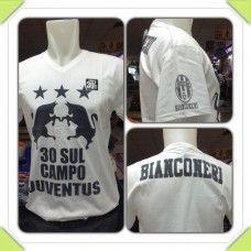 Vneck Juventus Putih / Rp 50,000