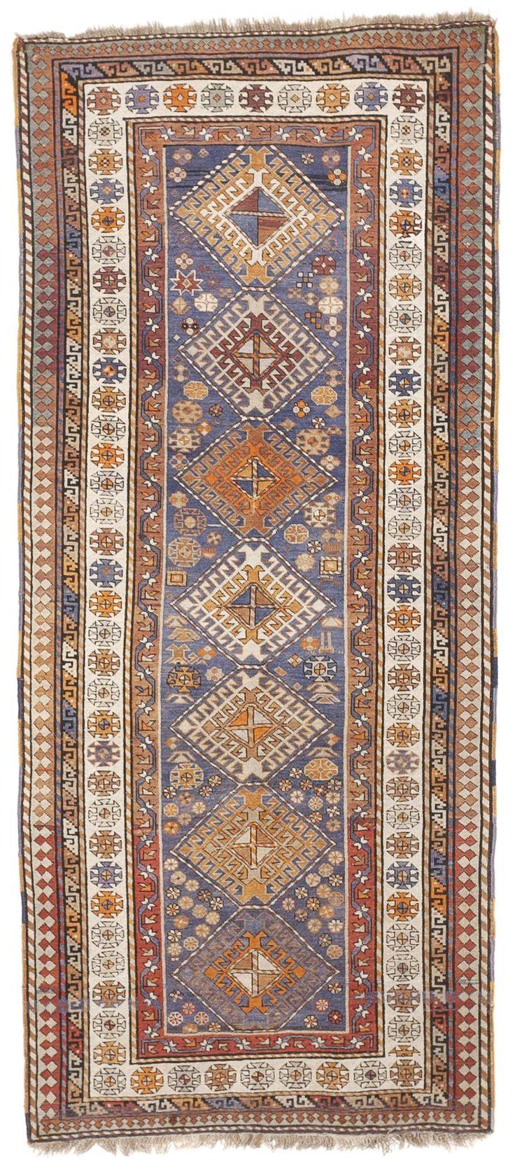 Antique Kazak Runner 3 10 X 8 7 Nlr 132 Rug Runner Rugs Rugs On Carpet