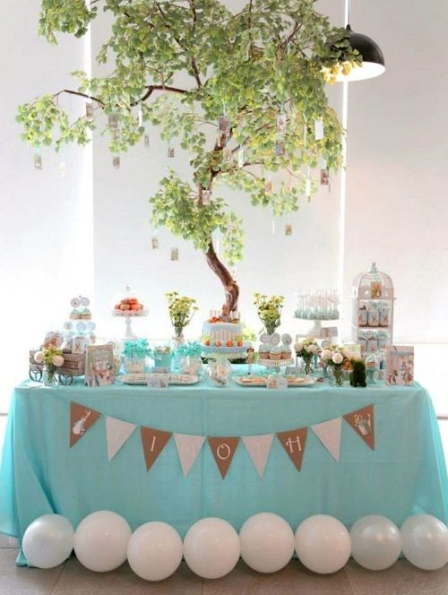 Peter Rabbit Themed Birthday Party! #Birthdayideas #partyideas #Partydecoration https://www.facebook.com/yuya.paperie