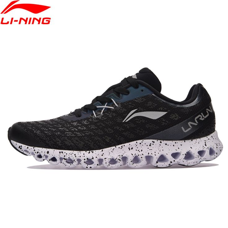 Running Shoes Light Comfort Sneakers Skid-Resistance LiNing Sports Shoes ARHM051 XYP584