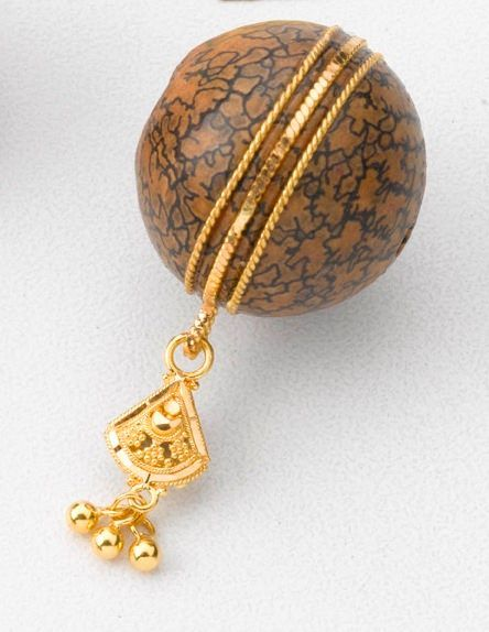 The Betel Nut Pendant - A unique and innovative design from the gold factory