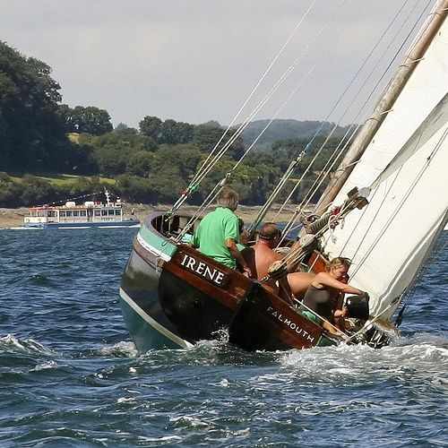 """Falmouth Working Boat """"Irene"""""""