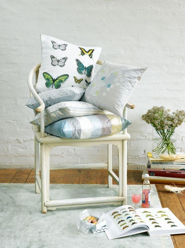 Pfister cushions