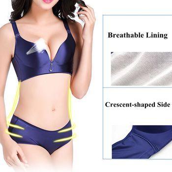 Hot Sexy Seamfree Wireless Soft Massage Gather Breathable Bras - NewChic