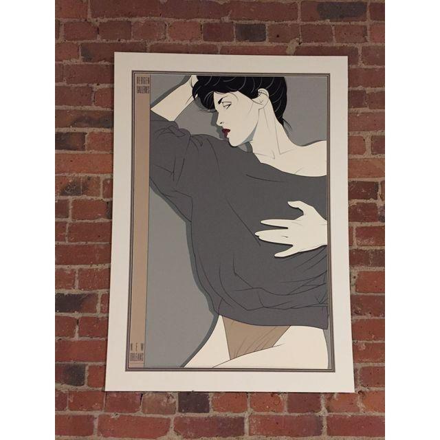 Image of 1980's Patrick Nagel Commemorative Serigraph