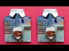 Geld vouwen broek: Broek vouwen van geld. Origami Broek - YouTube