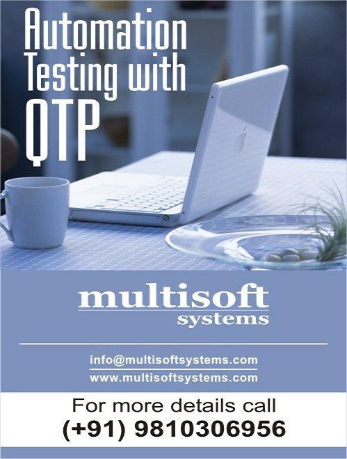 Training on Automation Testing with QTP