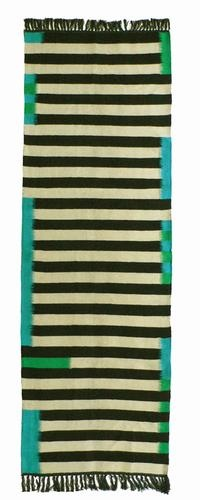Kira-cph runner rug, via Kristen Kieffer. (I preferred the blue-green colorway because, well, I always do.)
