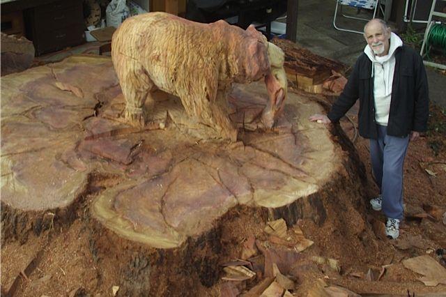 108 Best Carve A Tree Stump Into Art Images On Pinterest