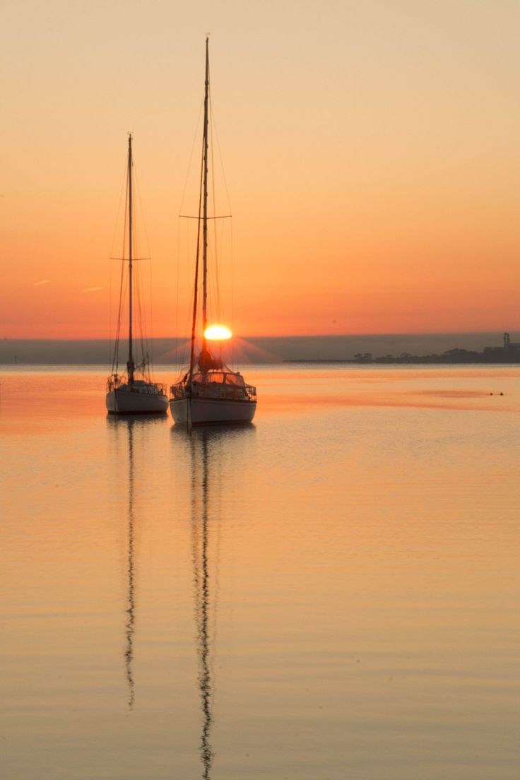 Photograph Yacht in Sunrise by Mic Larkins on 500px