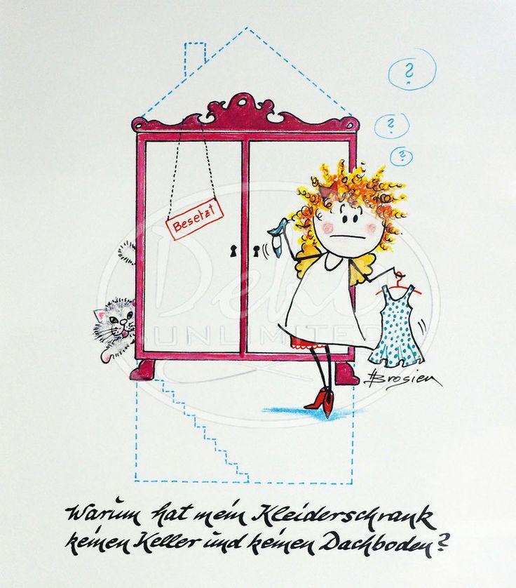 Heidemarie Brosien - KLEIDERSCHRANK - Passe-Partout-Bild