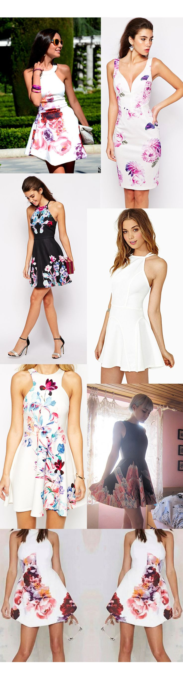 Cute & Stylish Women Floral Print Dresses