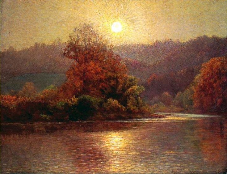 <b>«The Closing of an Autumn Day»,</b> 1901<br />Музей Нортона Саймона, Пасадена. 50x70.Холст, масло. Смирнова Е. 2012<br />Цена с багетом 25900р
