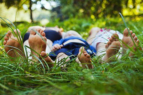 SÅDAN TJEKKER DU FOR SKOVFLÅT Tag ud og nyd naturen, men husk at se dit barn og dig selv efter for flåt. Flåten kan bide sig fast hvor som helst på kroppen - også i håret, bag ørene og i nakken...