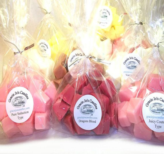 Candle Wax Tart Melts for Warmers Your Choice by GracieJosCandles, $5.95