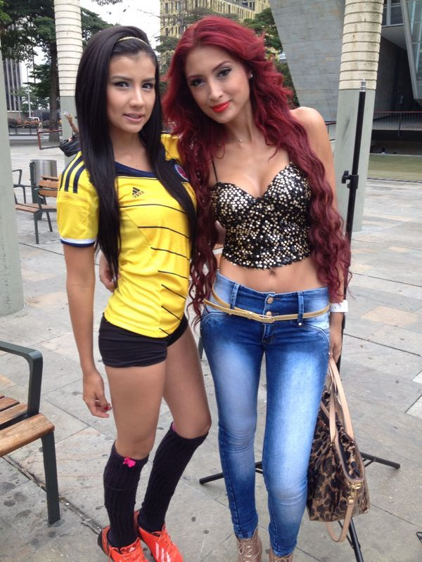 Colombian Models Steicy Suarez & Jessie Piedrahita - What a team ;)