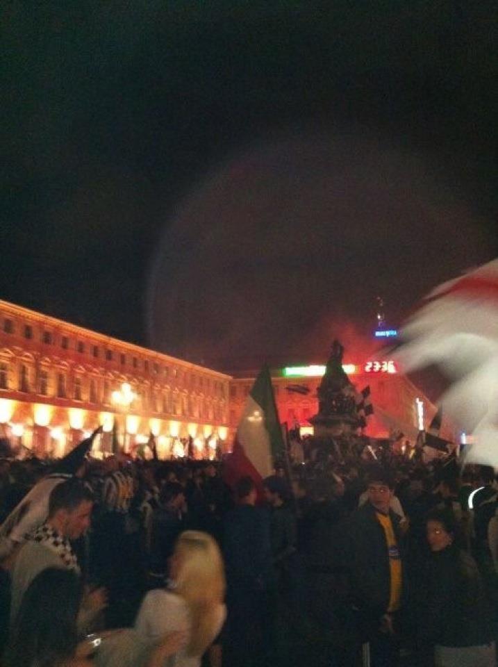Torino, 6 maggio 2012. 30 scudetti. I festeggiamenti.