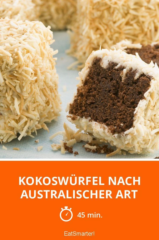 Kokoswürfel nach australischer Art - smarter - Zeit: 45 Min. | eatsmarter.de