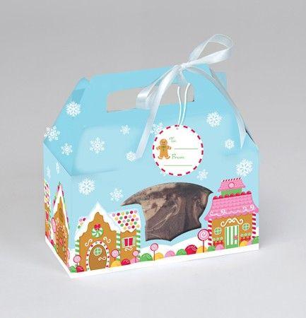 Krabička na koláčiky, 15,8cm, 4ks/bal