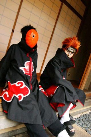 Pain and Tobi Naruto Cosplay.