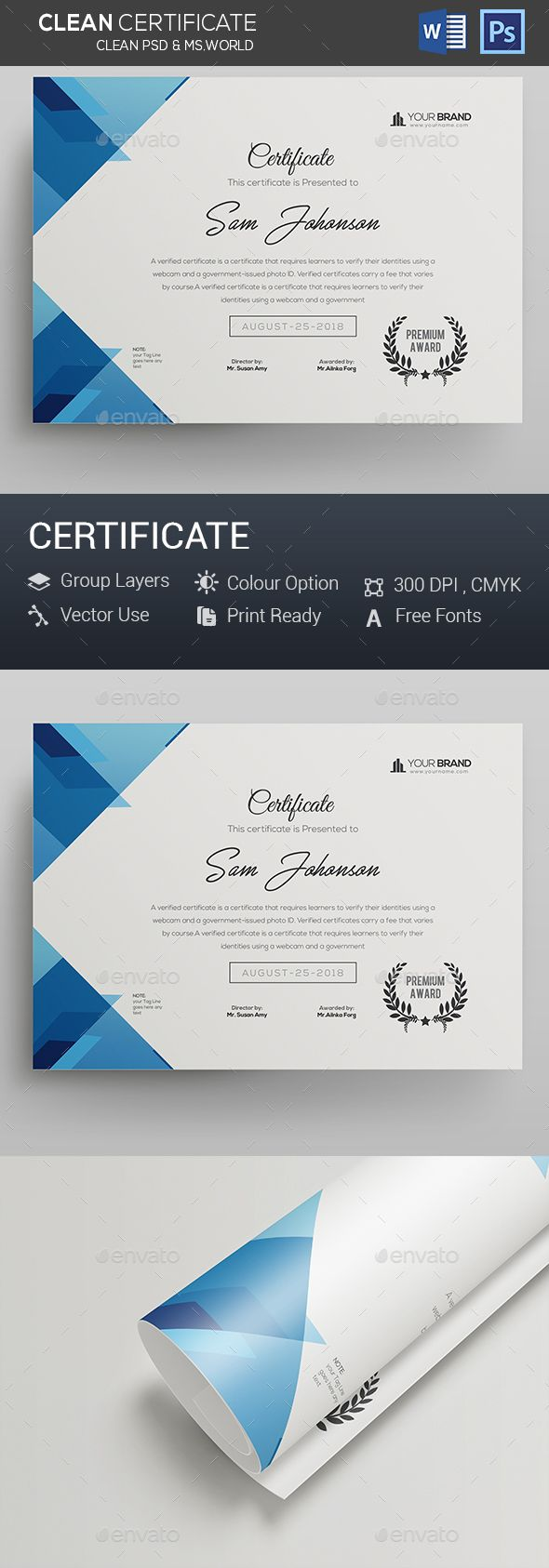 Certificate #landscape certificate #certificate black  • Download here → https://graphicriver.net/item/certificate/20263379?ref=pxcr