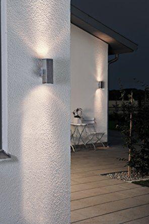 Außenleuchte Up und Down (Außenstrahler, Wandleuchte, Außenlampe, Alu, 2 Fassungen GU10): Amazon.de: Beleuchtung