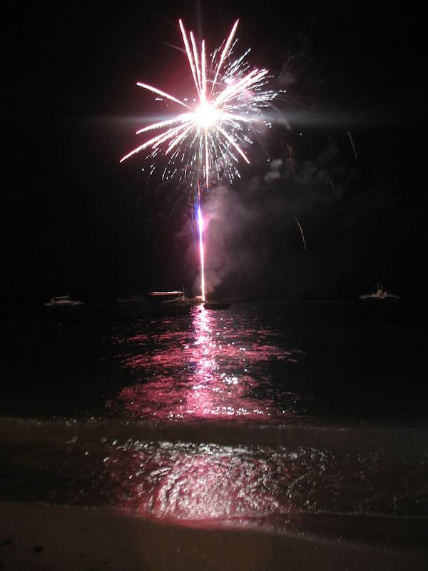 Professional Pyrotechnic Display For Corporate Events And Weddings Fireworks At Cancun Mayan Riviera Playa Del Carmen Mexico