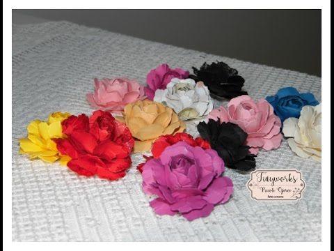 Tutorial Rose di Carta Paper Roses