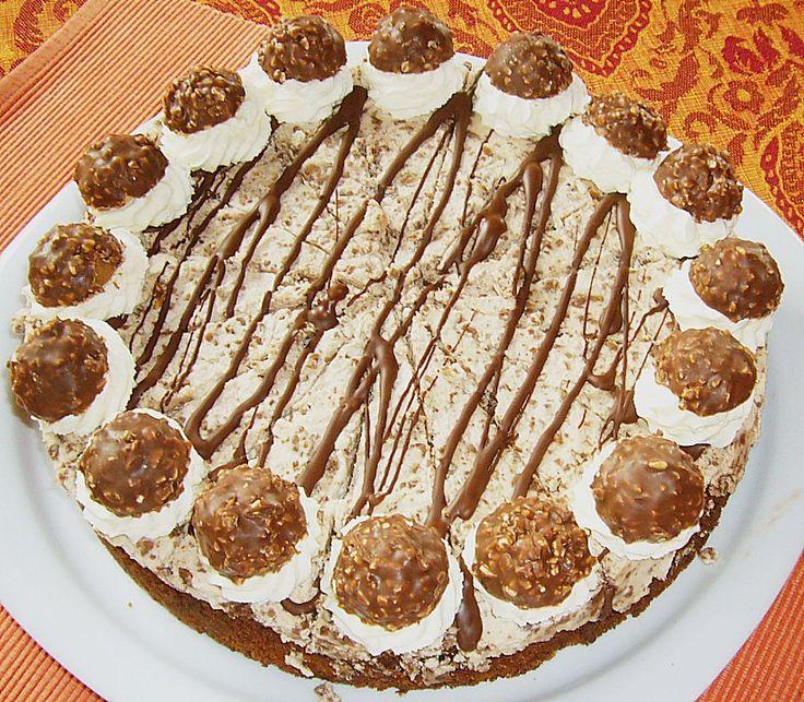 Ferrero Rocher - Torte, ein sehr leckeres Rezept aus der Kategorie Torten. Bewertungen: 7. Durchschnitt: Ø 4,2.