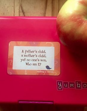 Lunchbox Love Riddles + @yumbox = A perfect lunch combo! #schoollunch