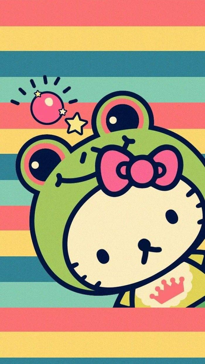 Hello Kitty frog