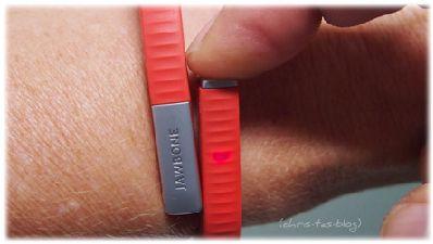 Jawbone Up24: nettes Gadget als Lifestyle-Armband | Chris-Ta´s Blog #gadget #fitnessarmband #jawboneup24