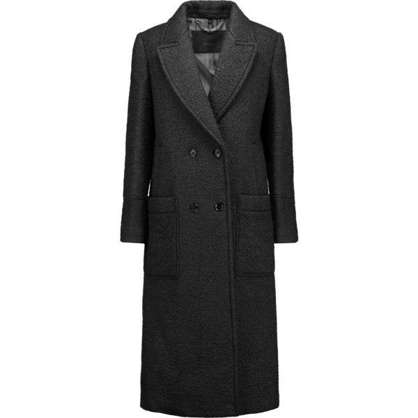 Belstaff Iason Boucl Coat ($897) ❤ liked on Polyvore featuring outerwear, coats, belstaff, belstaff coat and boucle coat