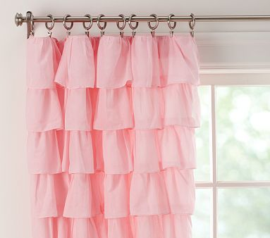 Tiered Ruffle Sheer #PotteryBarnKids