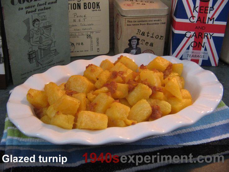 Glazed turnips (Canadian recipe) – No 108