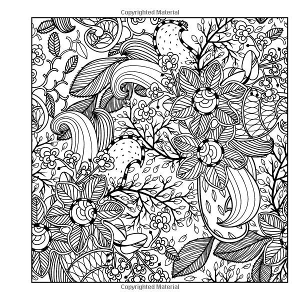 whimsical flowers coloring pages - photo#9