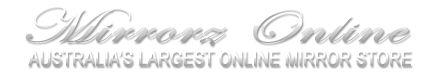 Amarissa Mirror Silver [STYL-2216(S)] - $349.00 : Mirrors Online, Mirrors, Mirror Furniture, Homewares. Online Store!