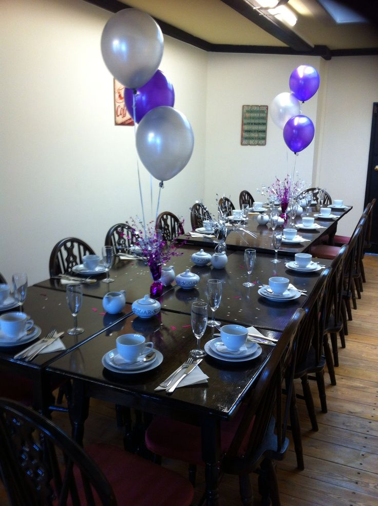 We can even host a Tea Party for you and your family and friends!