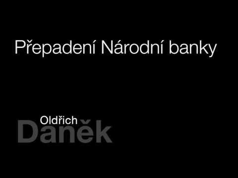 MLUVENÉ SLOVO Daněk, Oldřich Přepadení Národní banky DETEKTIVKA - YouTube
