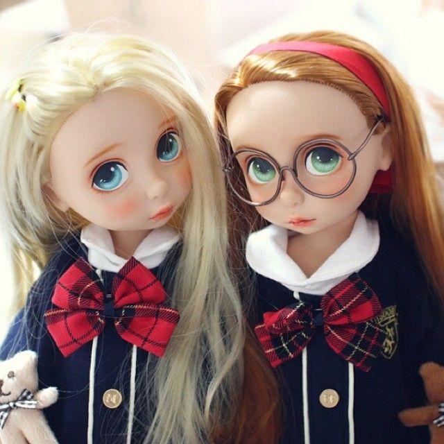 순살 반반 #베이비돌 #디즈니베이비돌 #라푼젤 #Doll #Dollstagram #Disney #Disneyanimators #Painting # | OnInStagram