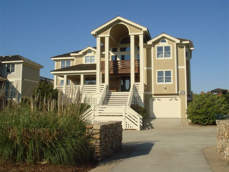 Amadeus 803 L Nags Head Nc Outer Banks Vacation Rental Home L Oceanfront Home With Eight