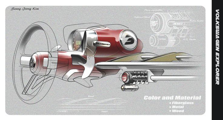 Seung Joong Kim Volkswagen project/Interior Design