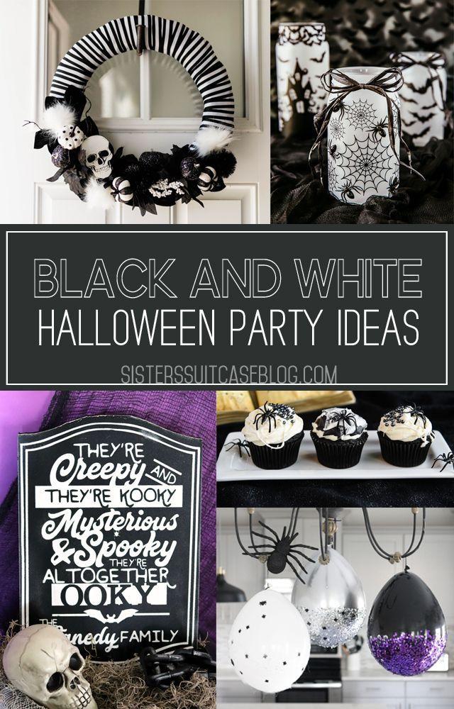 Spooky Halloween Cake Topper White Halloween Party Halloween Cake Topper Halloween Party Decor