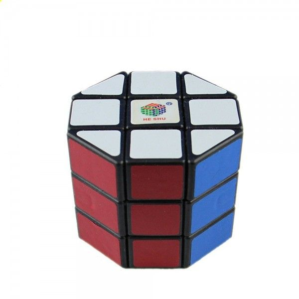 HeShu Barrel Cube Black 3x3