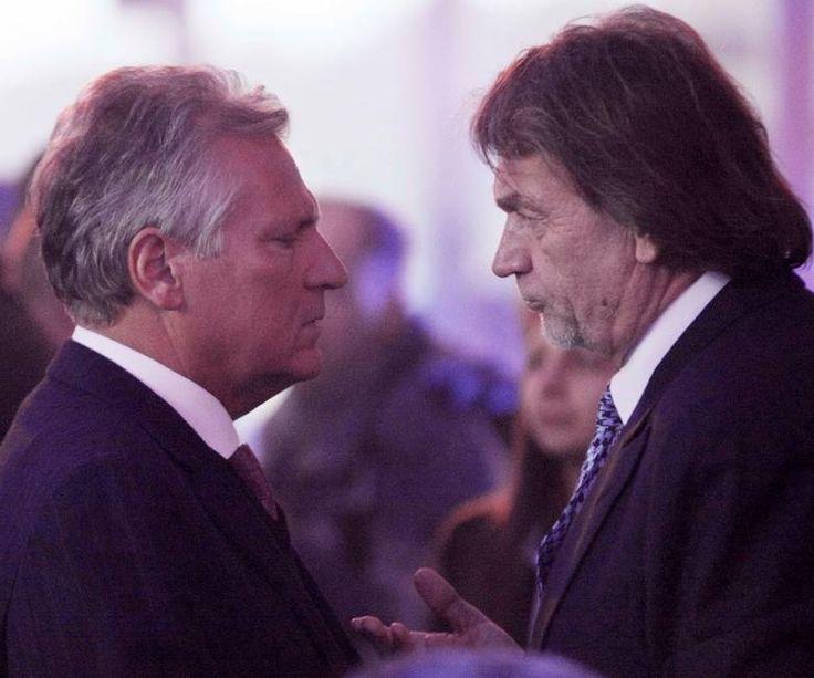 Aleksander Kwaśniewski + Jan Kulczyk