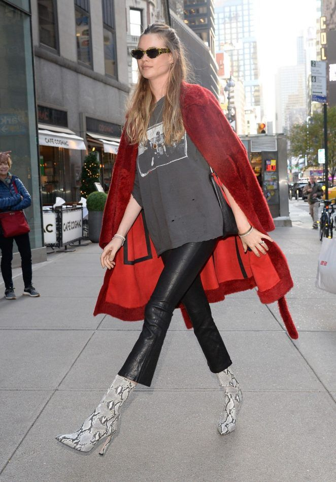 b808c425fc Behati Prinsloo  Arriving at the Victorias Secret offices -04 - GotCeleb