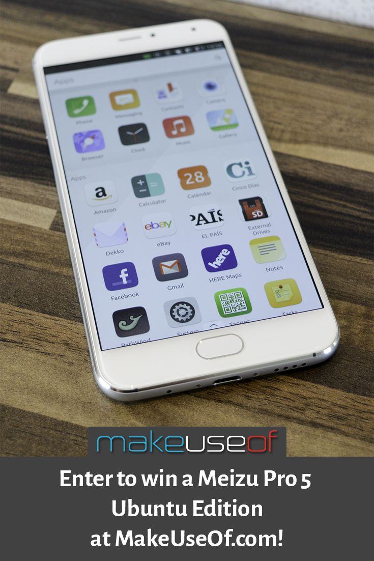 Enter to win a Meizu Pro 5 Ubuntu Edition from MakeUseOf.com! https://wn.nr/Bgq4mU